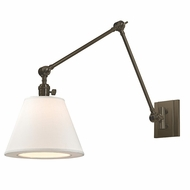 Hudson Valley 6234-OB Hillsdale Vintage Old Bronze Finish 10  Wide Wall Lamp