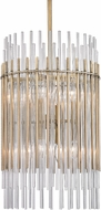 Hudson Valley 6315-AGB Wallis Modern Aged Brass 15  Pendant Lighting