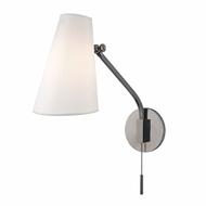 Hudson Valley 6341-HN Patten Modern Historic Nickel Swing Arm Lamp