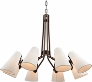 Hudson Valley 6348-OB Patten Old Bronze Chandelier Lighting