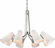 Hudson Valley 6348-PN Patten Polished Nickel Lighting Chandelier