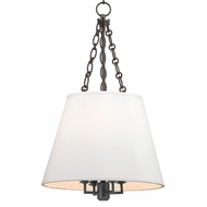 Hudson Valley 6415-OB Burdett Old Bronze Finish 24.25  Tall Drop Ceiling Lighting