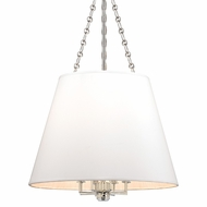 Hudson Valley 6422-PN Burdett Polished Nickel Finish 36.25  Tall Drop Lighting Fixture