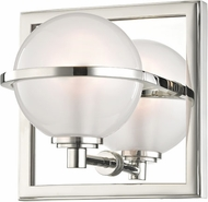 Hudson Valley 6441-PN Axiom Modern Polished Nickel LED Lamp Sconce