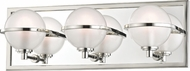 Hudson Valley 6443-PN Axiom Modern Polished Nickel LED 3-Light Bathroom Sconce Lighting