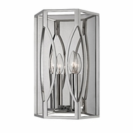 Hudson Valley 6502-PN Roswell Polished Nickel Wall Lamp