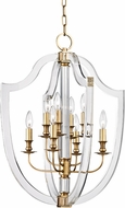 Hudson Valley 6520-AGB Arietta Aged Brass 21.25  Foyer Lighting