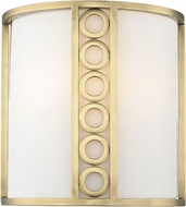 Hudson Valley 6700-AGB Infinity Modern Aged Brass Wall Sconce Light