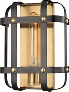 Hudson Valley 6901-AOB Colchester Modern Aged Old Bronze Wall Light Sconce
