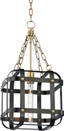 Hudson Valley 6912-AOB Colchester Modern Aged Old Bronze 11.75  Foyer Lighting Fixture