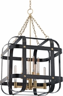 Hudson Valley 6925-AOB Colchester Modern Aged Old Bronze 27.5  Foyer Lighting Fixture