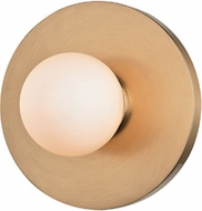 Hudson Valley 7000-AGB Taft Modern Aged Brass LED Lighting Wall Sconce