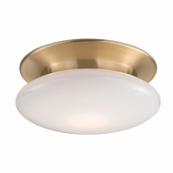Hudson Valley 7012-SB Irvington Modern Satin Brass LED Ceiling Lighting