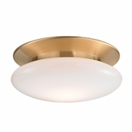 Hudson Valley 7015-SB Irvington Modern Satin Brass LED Ceiling Light Fixture