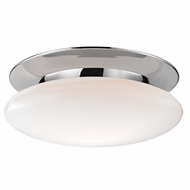 Hudson Valley 7018-PC Irvington Contemporary Polished Chrome LED Ceiling Lighting Fixture