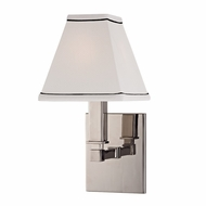 Hudson Valley 7021-PN Kingston Polished Nickel Finish 12  Tall Wall Sconce Light