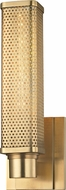 Hudson Valley 7031-AGB Gibbs Modern Aged Brass Wall Sconce