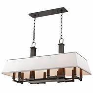 Hudson Valley 7038-OB Kingston Old Bronze Finish 18  Wide Island Lighting