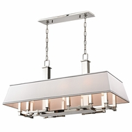 Hudson Valley 7038-PN Kingston Polished Nickel Finish 20  Tall Kitchen Island Lighting