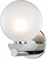 Hudson Valley 7100-PN Boone Modern Polished Nickel LED Wall Lighting Sconce