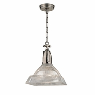 Hudson Valley 7111-HN Langdon Modern Historic Nickel Hanging Light Fixture