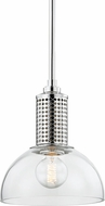 Hudson Valley 7210-PN Halcyon Modern Polished Nickel Mini Pendant Light