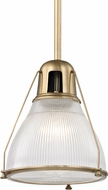 Hudson Valley 7311-AGB Haverhill Contemporary Aged Brass Hanging Light Fixture
