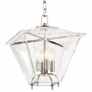 Hudson Valley 7415-PN Andover Polished Nickel Finish 16.5  Tall Pendant Light