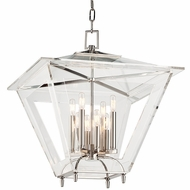 Hudson Valley 7424-PN Andover Polished Nickel Finish 26.5  Tall Hanging Light