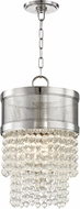 Hudson Valley 7704-PN Harrison Modern Polished Nickel 12.25  Entryway Light Fixture