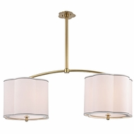 Hudson Valley 7942 Sweeny 42 Wide Transitional Ceiling Light Fixture