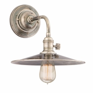 Hudson Valley 8000-MS1 Heirloom 10  Wide Wall Lighting