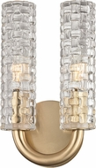 Hudson Valley 8010-AGB Dartmouth Aged Brass Lamp Sconce