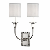 Hudson Valley 8082-PN Dover Polished Nickel Wall Sconce Lighting
