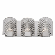 Hudson Valley 8103-PN Marcy Contemporary Polished Nickel Xenon 3-Light Bathroom Vanity Lighting