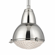 Hudson Valley 8109-PN Belmont Polished Nickel Finish 10.75  Wide Mini Hanging Pendant Lighting