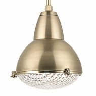 Hudson Valley 8117-AGB Belmont Aged Brass Finish 20  Wide Ceiling Light Pendant