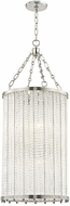 Hudson Valley 8138-PN Shelby Contemporary Polished Nickel Foyer Light Fixture