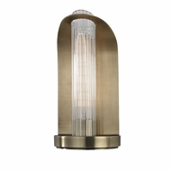 Hudson Valley 8191-AGB Medfield Contemporary Aged Brass Wall Lighting Fixture