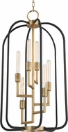 Hudson Valley 8316-AGB Angler Contemporary Aged Brass 20  Foyer Lighting