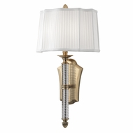 Hudson Valley 8411-AGB St. George Aged Brass Wall Sconce