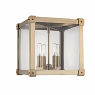 Hudson Valley 8600-AGB Forsyth Modern Aged Brass Flush Lighting