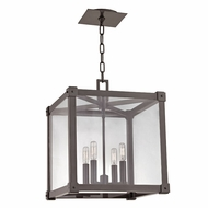 Hudson Valley 8616-OB Forsyth Contemporary Old Bronze 16  Wide Foyer Lighting