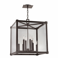 Hudson Valley 8620-OB Forsyth Modern Old Bronze 20  Wide Entryway Light Fixture