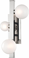 Hudson Valley 8703-PN Mini Hinsdale Contemporary Polished Nickel LED Lighting Sconce