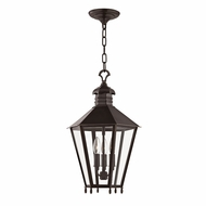 Hudson Valley 8813-OB Barstow Old Bronze 13  Wide Foyer Lighting Fixture