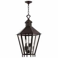 Hudson Valley 8819-OB Barstow Old Bronze 19.5  Wide Foyer Light Fixture