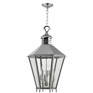 Hudson Valley 8819-PN Barstow Polished Nickel 19.5  Wide Foyer Lighting Fixture