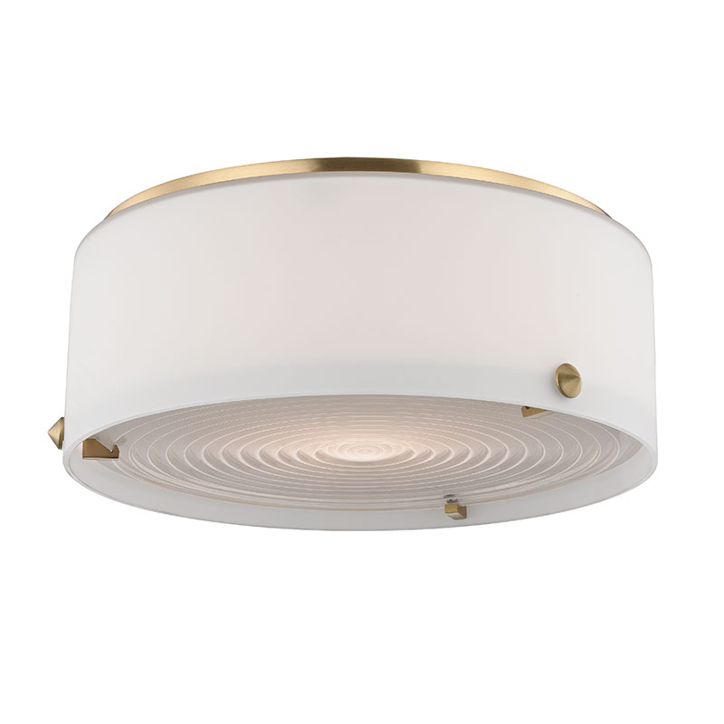 Hudson valley 9010 sb blackwell satin brass led flush mount hudson valley 9010 sb blackwell satin brass led flush mount ceiling light fixture loading zoom mozeypictures Images