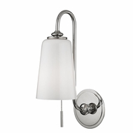 Hudson Valley 9011-PN Glover Polished Nickel Lighting Wall Sconce